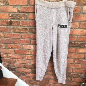 Alexander Wang Knit Jogger Track Pants Pockets